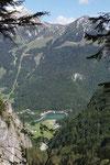Blick von der Grünsteinhütte zum Königssee