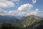 Blick vom Gipfel des Herzogstand