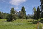 Wanderung von Mittenwald nach Krün