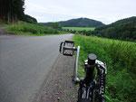 auf dem Rückweg kurz vor Eslohe