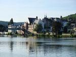 Ankunft Traben-Trabachnach 120 km