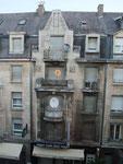 Luxemburg Stadt, aus dem Hotel heraus