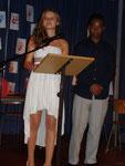 Klassen- und Schulsprecher: Sabrina Schmidt und René Hafemann