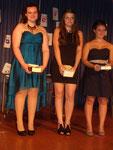 Preisträger: Sarah Mano, Fatlinda Lahu, Carina Varanda