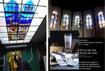 Bestelnr.:     - Bestelnr.: 23 - Glasstickers met het Bakenesserkerk glas-in-loodraam-ontwerp