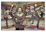 Bestelnr.: 14 - Frans Hals jubileumillustratie voor Frans Hals Museum dagversie