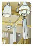 Bestelnr.: 16 - Grand Café Brinkmann schets interieur