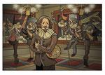 Bestelnr.: 13 - Frans Hals jubileumillustratie voor Frans Hals Museum nachtversie