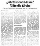 Kritik in der WAZ/NRZ