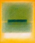 Grün auf Orange (80x100 cm)