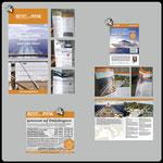 Satz + Layout:nikurangi / Gesamtproduktion: Agentur STRANDGUT • 1) Kreuzfahrt-Magazin, 25 Seiten, mit Rückendrahtheftung A5 lang • 2) Anzeige Reisebüro Biehl • 3) Folder 4-seitig A4