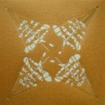 Yukizuri Snow, 2008; Katagami stencil (pre-print), 15 3/4 x 5 3/4 inches