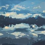 Color of sky_silkscreen_600×600mm_2015_