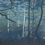 秋の静けさに気づく_600×600mm_silkscreen_2015