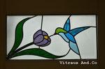 Création de vitrail - Arès