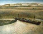 砂の旅 72.7×91cm 2006 板に油彩・テンペラ(混合技法)