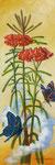 空への手紙 59.5×20×3.5㎝ 2018 キャンバスに油彩・テンペラ(混合技法)