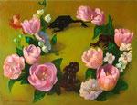 春のワルツ 31.8×41cm 2009 【sold out】(混合技法)
