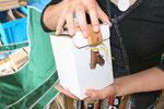 白石さんから花ちゃんへのプレゼントボックス。。。?