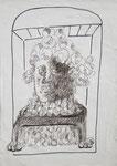 """""""Goldberg"""" - Zeichenstift auf Papier - 21 x 30 cm"""