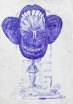 """""""mind"""" - Zeichenstift auf Papier - 21 x 30 cm"""