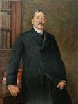 D. Andrés Mellado. Galería de retratos de Ministros de Educación 108 x 82 cm.