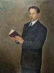 D. Felipe Rodés. Galería de retratos de Ministros de Educación 108 x 82 cm.