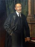 D. Lorenzo Domínguez Pascual. Galería de retratos de Ministros de Educación 108 x 82 cm.