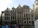 Da Brüssel Handelszentrum war, hatte jede Sparte sein eigenes prunkvolles Gebäude