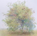 吉澤光子 紙本・S12号 『tree』