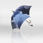 全長47cm シルクモダール・コットン 『カトレア二十張り日傘』 ¥85,000(税別)