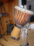 Djembe aus Afrika, große Version mit viel Sound