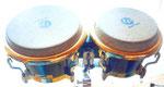Latin Percussion Galaxy Bongos, schwere Ausführung aus Fieberglas