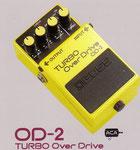 Boss OD-2 Turbo Overdrive: Ein sanfter Verzerrer mit feinsten Einstellmöglichkeiten.