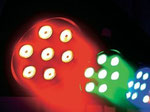 2 Bar LED-Scheinwerfer KLS-150 inc. Steuerprogrammen