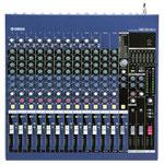 Mischpult Yamaha MG16/6fx: 16 Eingangskanäle, 8 Mono Mikrofon-/Line-Eingänge und 4 Stereo Line-Eingänge, von denen2 auch als Mono Mikrofon-Eingänge einsetzbar sind.10 rauscharme, hochpräzise Mic-Preamps. Insert I/O. 6 Busse (Stereo + 2 Gruppen-Paare)