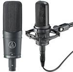 Audio Technica AT4050: Professionelles Großmembran Kondensator Mikrofon. Eines der besten und vielseitigsten Studiomikros am Markt.