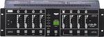 Stairville DC-405B, 4-Kanal Lauflichtsteuerung mit Dimmfunktion, 7 verschiedene Betriebsmodi wählbar (Hold Dim, Hold Sound, Prog. Sound, Prog. Speed, Auto Speed, Auto Sound, Memory), 42 integrierte Lauflichtprogramme