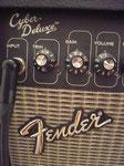 Bedienfeld & Inputbereich Gitarrenverstärker Fender Cyber Deluxe