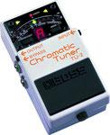 Boss TU-2 Chromatic Tuner, Stimmgerät für Bass oder Gitarre mit Fußbedienung,