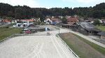 Reitplatz und Roundpen