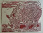 Gepanzertes Nashorn