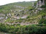 La Malene..Aussicht auf Fahrspass