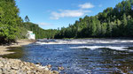 Rivière Jacques-Cartier vers l'amont...