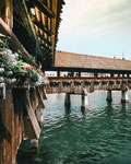 Kappelbrücke, Luzern, Schweiz