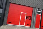 Sektionaltor mit Tür