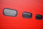 Sektionaltor- Auschnitt Fensterbeispiel