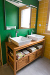 Salle de bain chambre la grue cendrée Homgaia