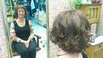 und eine chice Frisur