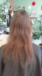 vorher dünnes Haar